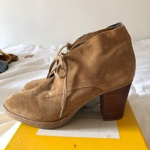 Gap Heeled Suede Boots
